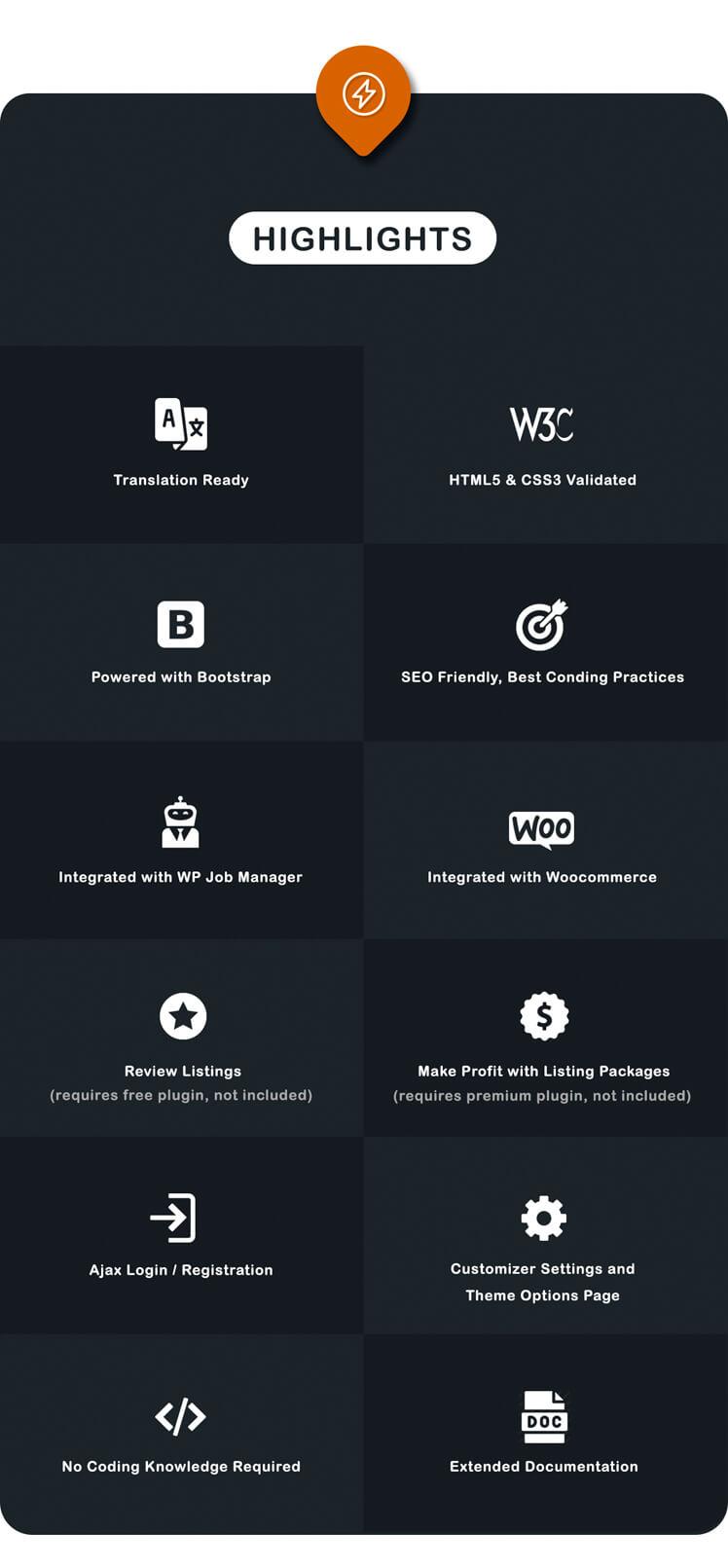 Listar - WordPress Directory and Listing Theme - 6